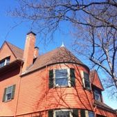 A historic home with a new roof completed by Action Roofing in Middlesex County, Massachusetts