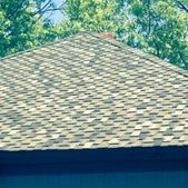 Shingles from a new roof installed by Action Roofing in Middlesex County, Massachusetts